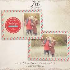 christmas card templates vol x inch card template th 2013 christmas card templates vol 16