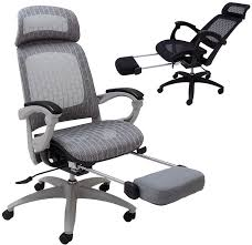 Office reclining chair Gravity Recliner Elastic Allmesh Reclining Office Chair Wadjustable Sliding Seat Depth Footrest Ebay Elastic Allmesh Reclining Office Chair Wadjustable Sliding Seat