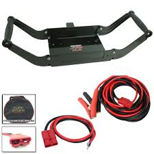 jeep and offroad combo kits winches bumpers lighting mounting tuff stuff® 25′ ft mobile winch wiring kit 2″ receiver mobile winch carrier combo