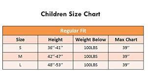 Choir Robe Size Chart