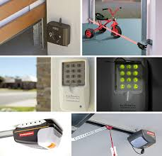 top row dominator s infra red safety beam prevents the garage door from coming into contact with anything or anyone that happens to move under it