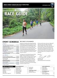 5k Timing Chart Great Smoky Mountains Race Guide By Vacation Races Issuu