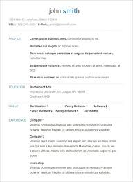 resume simple example simple resume examples resume templates for simple examples of