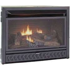 home depot fireplace inserts gas log