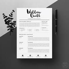 Plain Decoration Resume Design Templates Design Resume Template