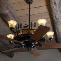 rustic ceiling fans. Cedarcrest Chandelier Ceiling Fan Rustic Ceiling Fans S