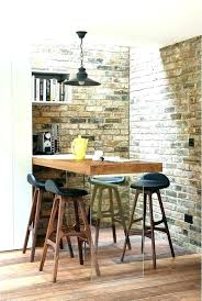 wall mounted bar table wall bar tables rustic breakfast table breakfast bar table and stools rustic