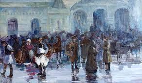 Галерея Арт Владивосток › Дальневосточная Государственная  Гилёва Инесса Старый Владивосток