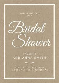 Bridal Shower Invitations Templates Microsoft Word Customize 636 Bridal Shower Invitation Templates Online Canva