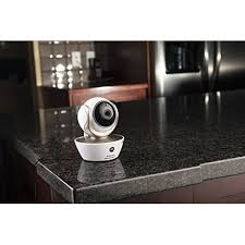 motorola focus 85. motorola focus 85 connect hd white wi-fi remote access monitoring camera - motion triggered recording,motoroised pan
