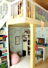 bunk bed office underneath. Loft Beds With Desk Underneath Bunk Bed Desks To Save Kids Office