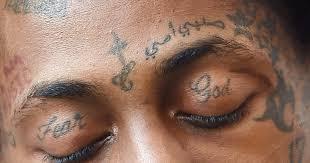 Hudba A Tetování Na Obličeji Kdo S Nimi Začal