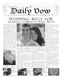 Custom Newspaper Template Wedding Invite Makemynewspaper Com