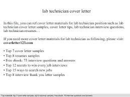 Bunch Ideas Of Lab Technician Resume Sample Lab Technician Resume