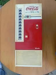 Coca Cola Vending Machine Radio Impressive Vintage CocaCola Vendo Vending Machine Coke Radio 48
