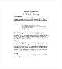 Corporate Business Plan Template 15 Construction Business Plan Templates Word Pdf Google