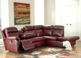 leather sectional recliner sofa with cup holders leather sectional recliner sofa with cup holders stylish modern