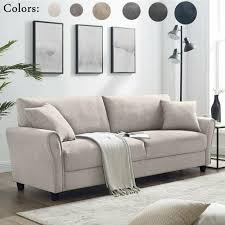 living room chenille fabric recliner