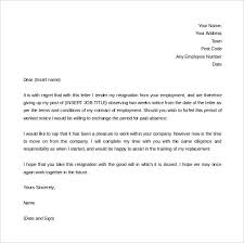 2 Week Notice Letter For Work 34 Two Weeks Notice Letter Templates Pdf Google Docs Ms