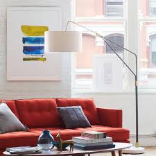 overarching floor lamp. Mid-Century Overarching Floor Lamp