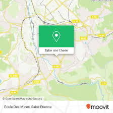 how to get to École des mines in saint