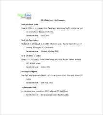 Templates For Reference List 10 Reference List Templates Pdf Doc Free Premium Templates