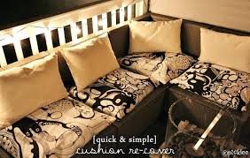 diy outdoor cushions quick simple no sew cushion waterproof pillows diy outdoor cushions
