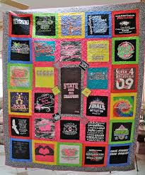T Shirt Quilt Pattern With Different Size Blocks Impressive Edge To Edge Quilting Inc TShirt Quilts