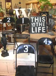 idea for my folding chairs metal folding chairspainted