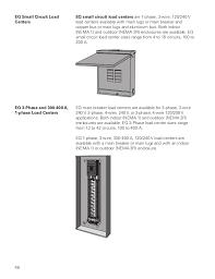 basics of load centers siemens cources eq circuit breaker enclosure 48
