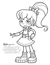 A variety of rainbow coloring pages you can print and color. Rainbow Brite Coloring Page Crayola Com