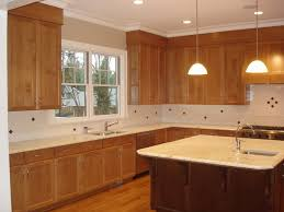 how to install crown molding on kitchen cabinets pictures