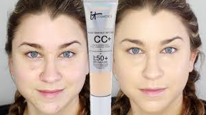 It Cosmetics Cc Cream Light Review It Cosmetics Your Skin But Better Cc Cream Demo Review Beauty Banter