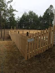 charlotte fence wood picket dog ear fee company e1