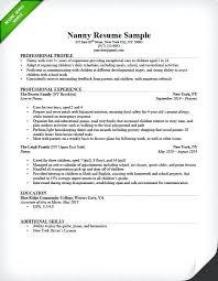 Appointment Setter Resume Best Resume Sample Formats Nanny Resume Sample Sample Resume Format For