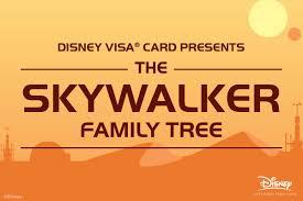 Ancestry Toe Chart Star Wars Family Tree Luke Skywalker Ancestry Disney