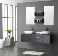 Bathroom   Bathroom Engaging Small Bathroom Using Inwall - Modern bathroom shelving