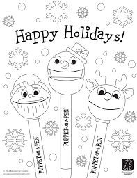 Small Picture Free Happy Holiday Coloring Pages And Holidays Pages itgodme