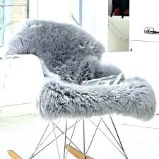 grey fur rug gray fur rug grey fur rug brand new extra large grey genuine merino