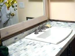 springs painting bathroom vanity countertop how to paint tile and our modern reveal white glass ideas