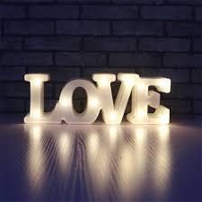 Romantic <b>3D</b> Love <b>LED Night Light</b> for Bedroom Wedding Party ...