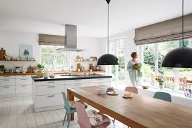Mit Farben Und Materialien Die Perfekte Wohnküche Gestalten