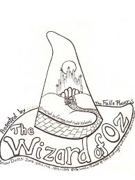 A IsforAfroWizard Of Oz Coloring Pages Free At Wizard Of Oz ...