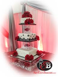 10 Cute Pic And Quince Cakes Red Black Photo Quinceanera Cakes Red