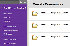weekly syllabus template designing online courses recommended steps hunter college