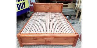 Kết quả hình ảnh cho giường xoan đào lào chân cao