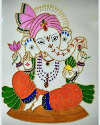 Diwali Glass Painting Designs Pin By Natalie Bessette On Art Ganesha Painting Glass