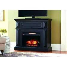 electric fireplace mantle brown fireplace mantel console infrared electric fireplace in black in in h dark electric fireplace mantle
