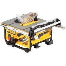 15 amp corded 10 in compact job site table saw with site pro
