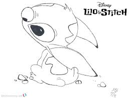 Stitch Coloring Pages Coloring Games Movie